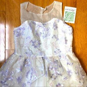 NWT Bonnie Jean size 12 girls Fancy Event Dress